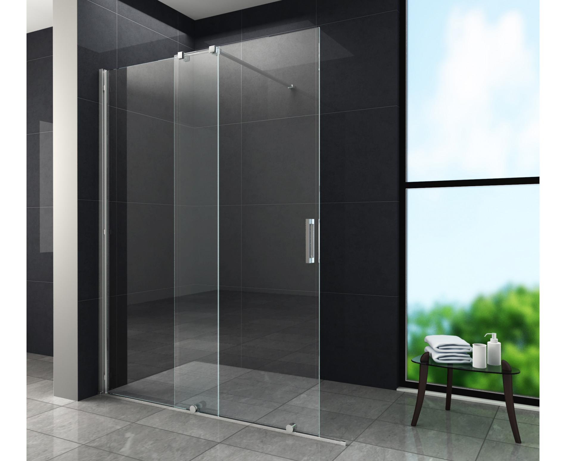 حمام شیشه ای - شیشه سکوریت حمام - تترافرم