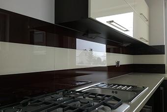 شیشه لاکوبل رنگی آشپزخانه - تترافرم