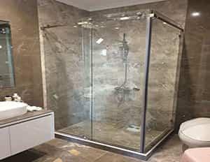 حمام شیشه ای - تترا فرم
