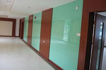شیشه رنگی دکوراتیو دیوارپوش - تترافرم