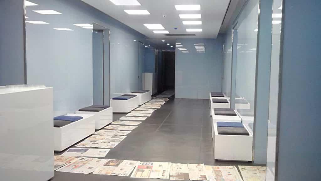 طراحی لابی - طراحی اتاق انتظار - تترافرم