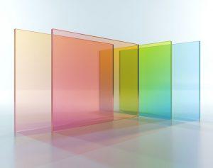 ساخت شیشه رنگی - تترافرم