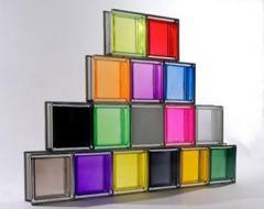 مراحل ساخت شیشه رنگی - تترافرم