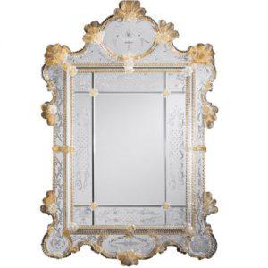 آینه آنتیک ونیزی - تترافرم