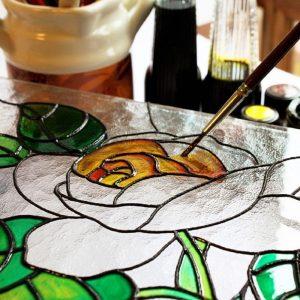 حلال رنگ ویترای - تترافرم