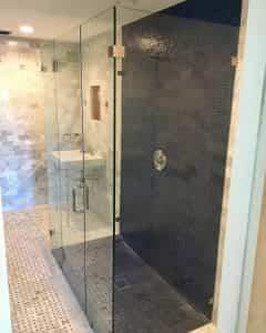 حمام شیشه ای - لواسان