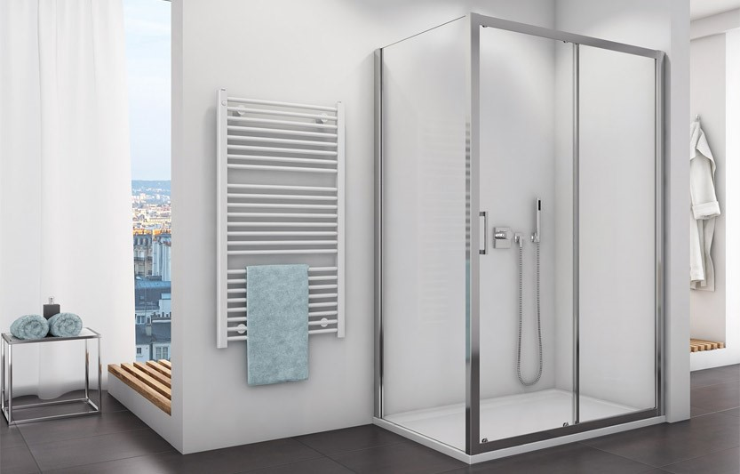 کابین دوش حمام در اتاق خواب - تترافرم
